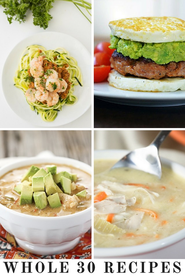 Whole 30 Recipes We Can't Wait To Try