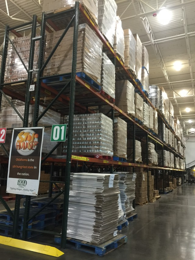 A Visit To The Regional Food Bank Of Oklahoma
