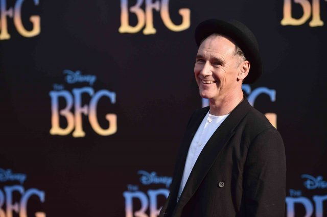 Mark Rylance on The BFG Movie Premiere on Red Carpet