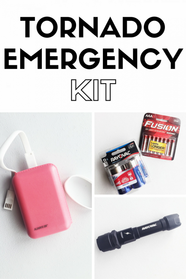 What You Need for a Tornado Emergency Kit