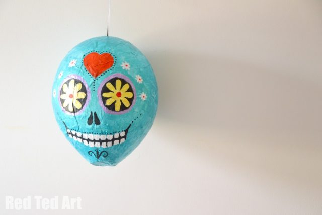 10 Dia De Los Muertos (Day of the Dead) Ideas to Bring Your Party to Life: Sugar Skull Piñata
