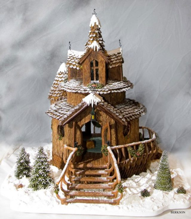 Woodland Gingerbread House