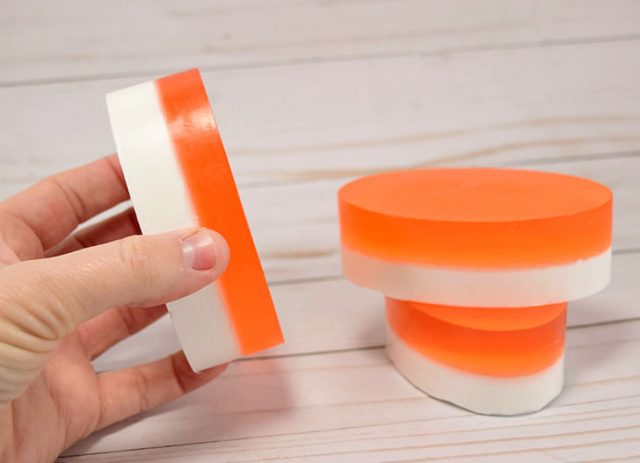 Homemade soap is simple to make and can be made in your favorite scent!