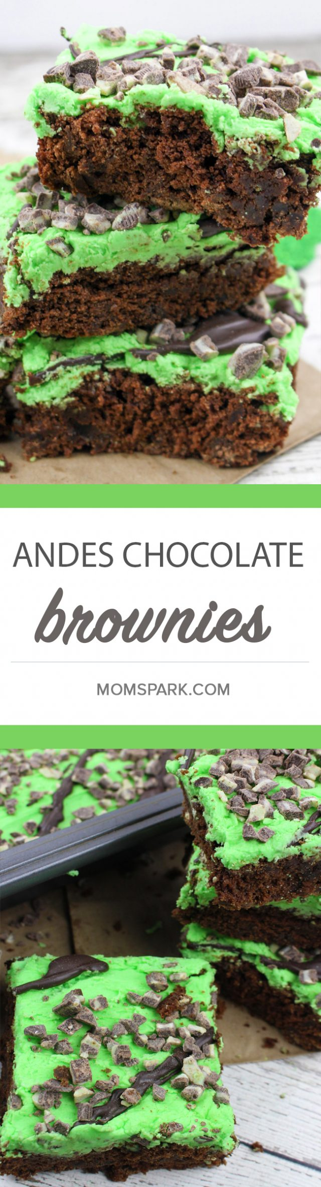 Andes Chocolate Peppermint Brownies Recipe