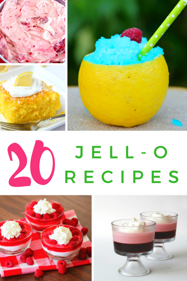 20 Deliciously Sweet JELL-O Dessert Recipes