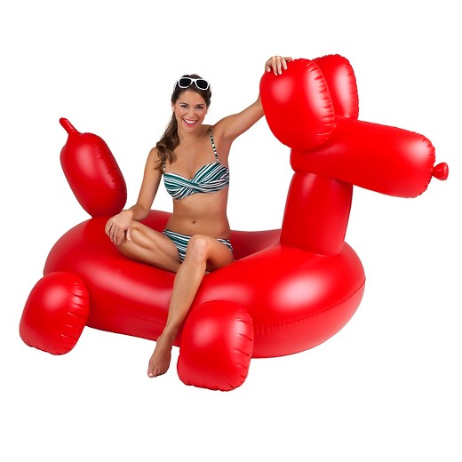 We've already shared a bunch of one-piece swimsuits moms are buying on Amazon right now. Now I'm here to share with you 17 awesome pool floats you need to bring to the pool this summer with this Giant Balloon Animal Pool Float