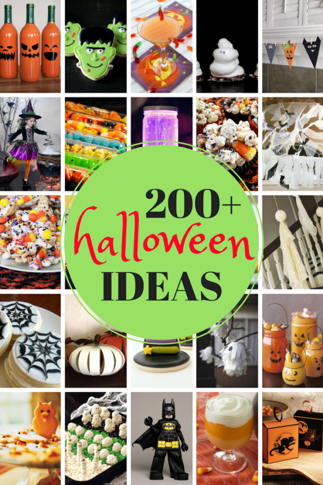 200 IDEAS FOR HALLOWEEN THIS YEAR