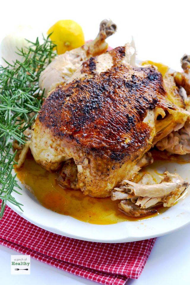 Instant Pot Rotisserie Chicken Fall is the best time to bust out your instant pot. There are so many fall-inspired instant pot recipes for cozy, crisp autumn days.