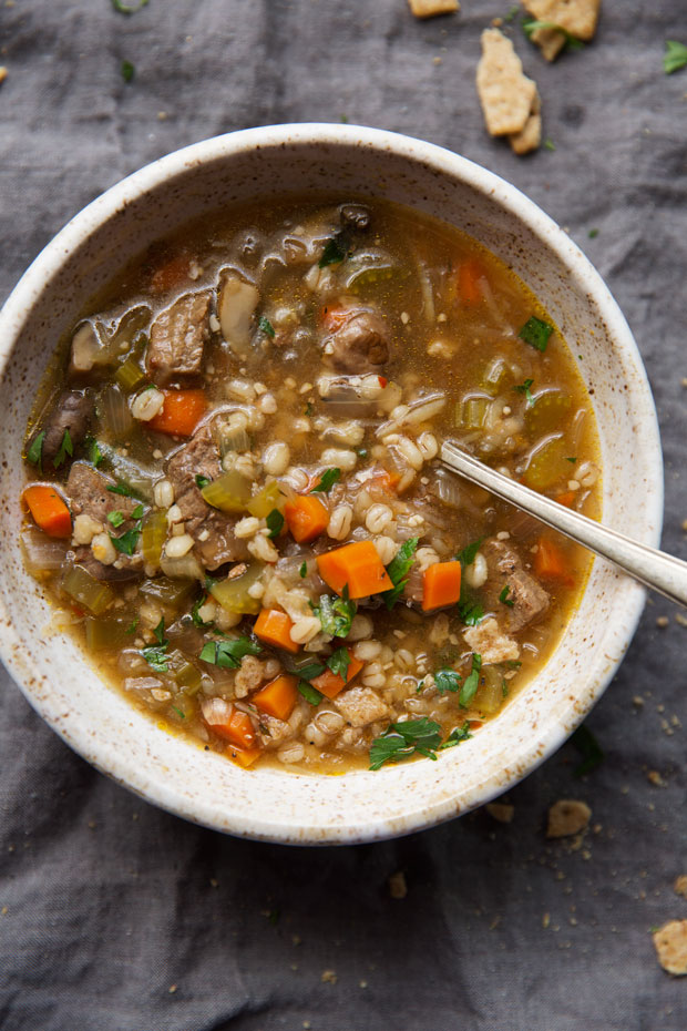 Comforting Instant Pot Beef Barley Soup Fall is the best time to bust out your instant pot. There are so many fall-inspired instant pot recipes for cozy, crisp autumn days.