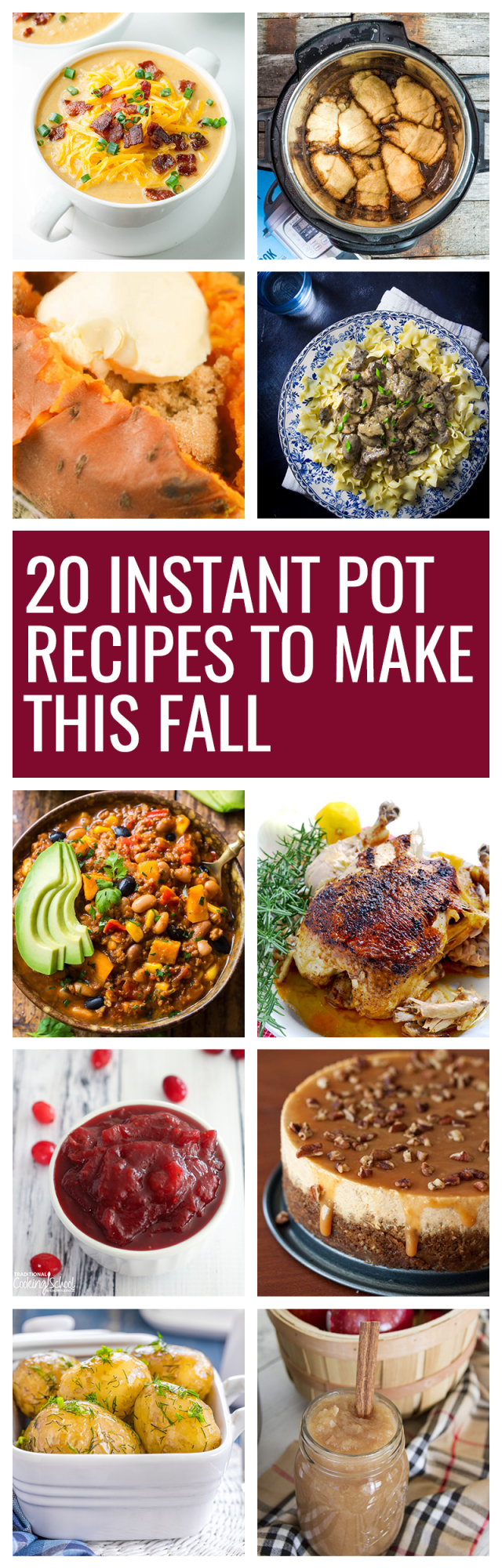 Fall is the best time to bust out your instant pot. There are so many fall-inspired instant pot recipes for cozy, crisp autumn days.