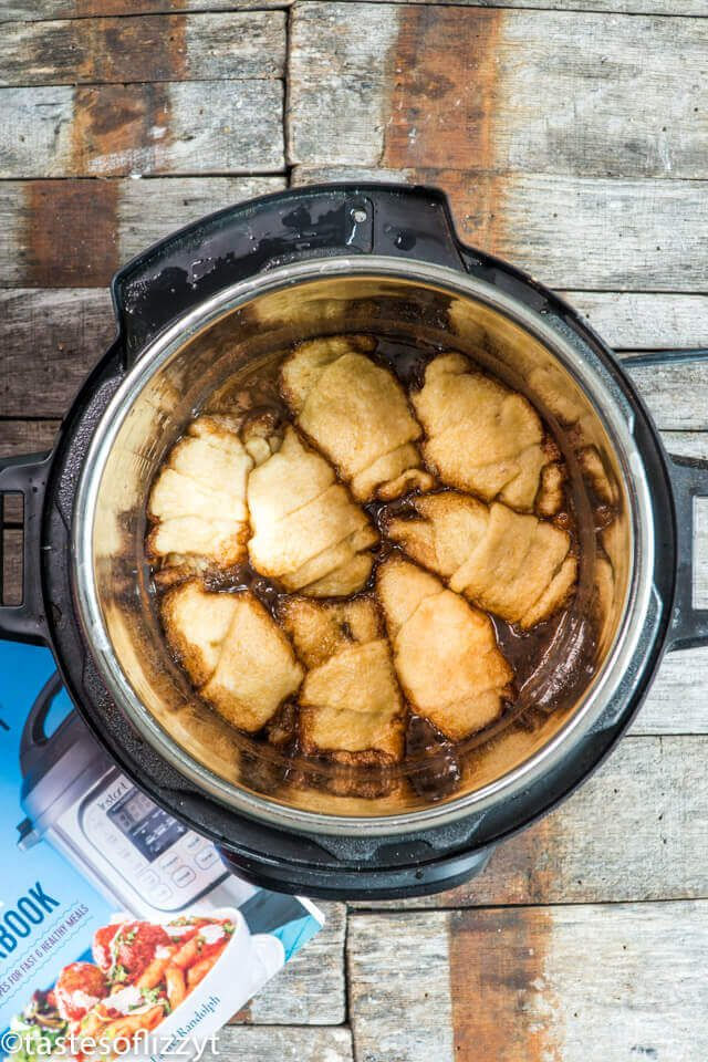 Instant Pot Apple Dumplings Fall is the best time to bust out your instant pot. There are so many fall-inspired instant pot recipes for cozy, crisp autumn days.