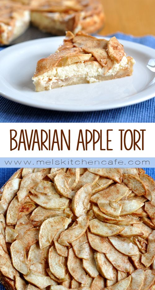 It's officially apple-picking season. Here are 20 awesome apple recipes to make this fall with all of your apples! - Bavarian Apple Torte