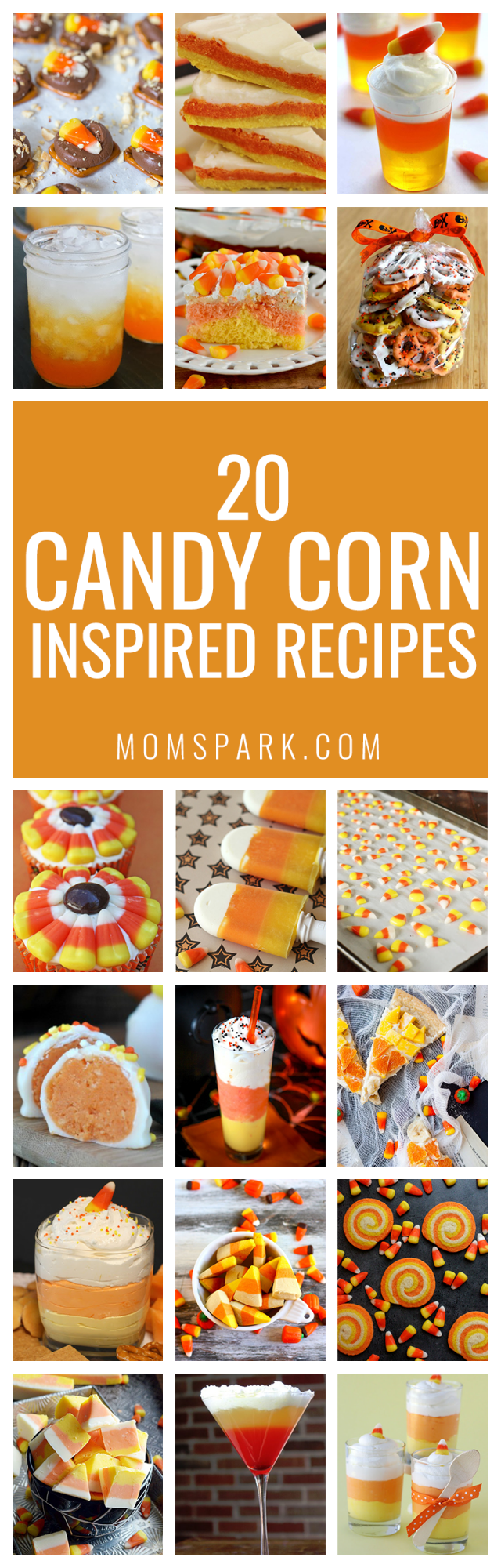 20 Candy Corn Inspired Recipes for Halloween