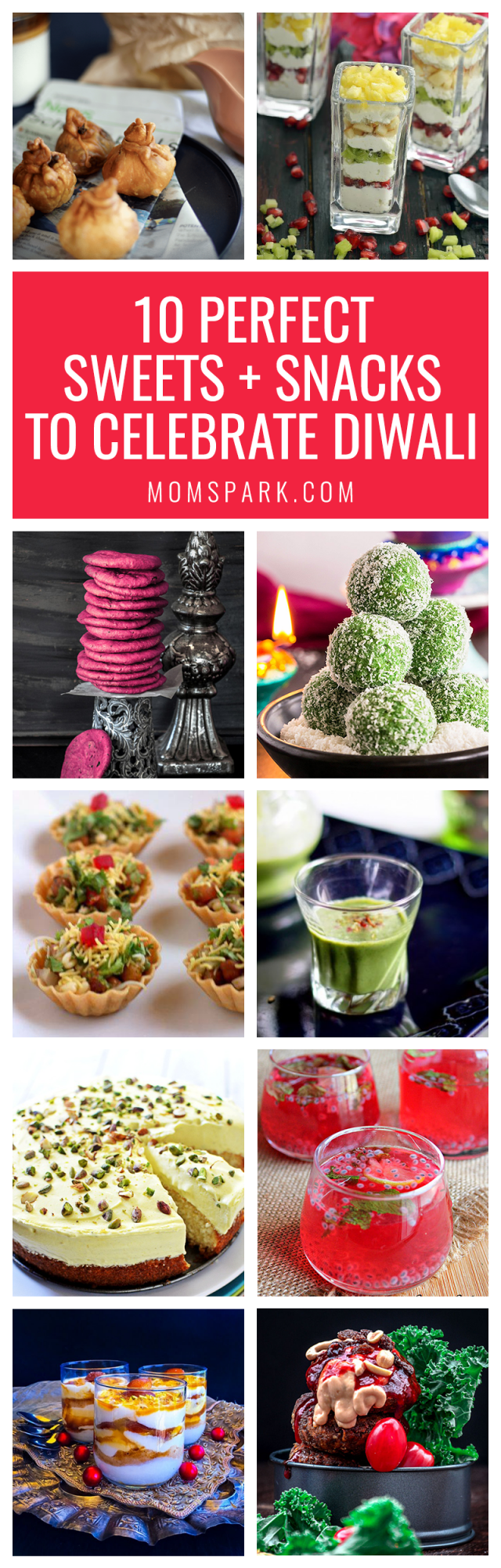I've always been fascinated by other cultures and how they celebrate with food. These 10 perfect sweets and snacks recipes to celebrate #Diwali are amazing.
