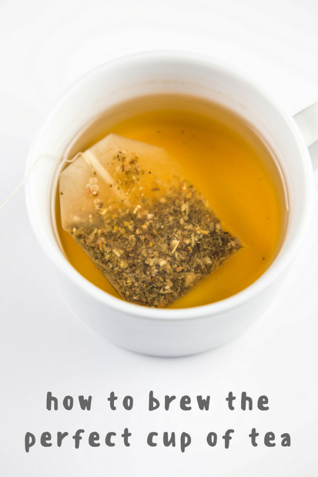 3 Easy Steps for Brewing the Perfect Cup of Tea