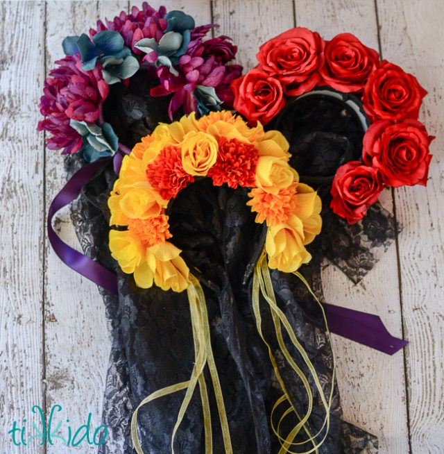 10 Dia De Los Muertos (Day of the Dead) Ideas to Bring Your Party to Life: Flower Headpieces