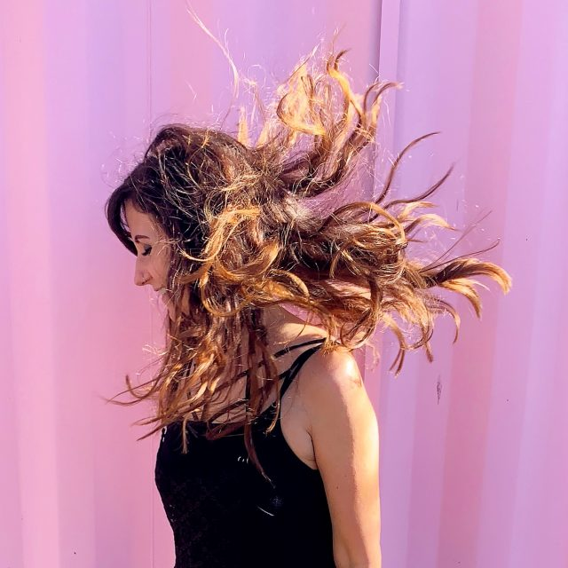 Pink Background Dancing