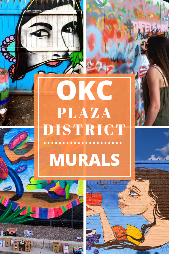 What to Do in the Plaza District in Oklahoma City (OKC): Murals
