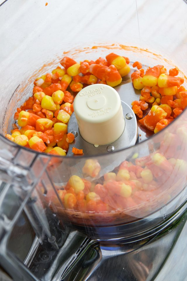 Easy Halloween White Chocolate Candy Corn Fudge Recipe