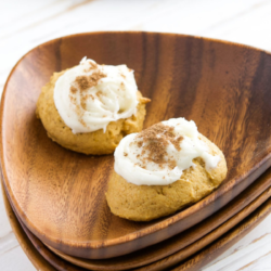 Soft Pumpkin Cookies with Cream Cheese Frosting Recipe