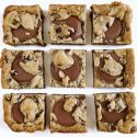 Peanut Butter Cup Chocolate Chip Cookie Bars - Cropped