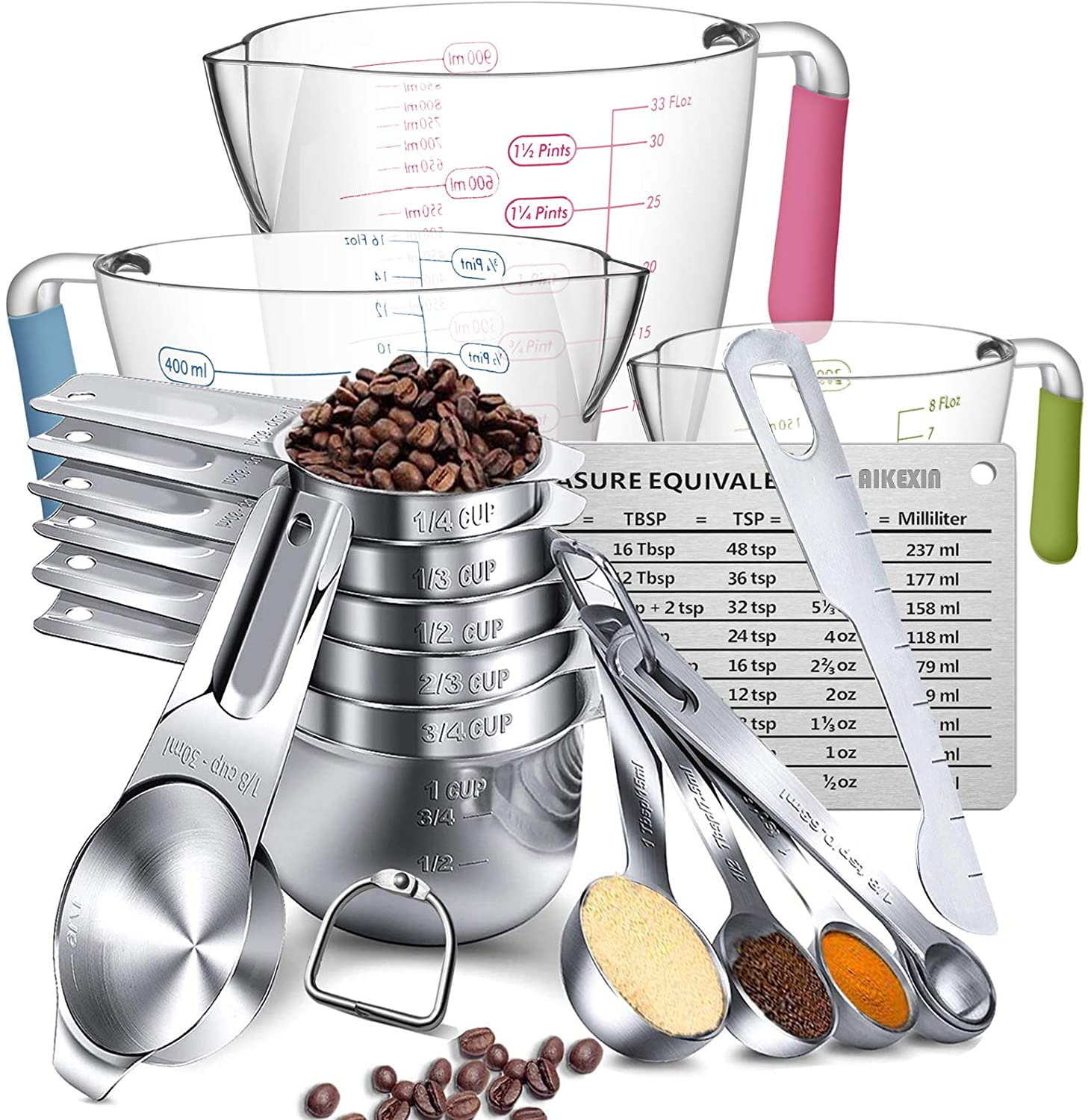 Epic Measuring Cups and Spoons Kit